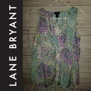 Lane Bryant Ruffle Blouse | Size 20